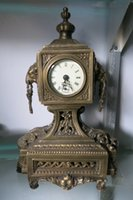 bell sheep - Chinese Qing Dynasty royal clock old clock Western Bell Sheep title ring