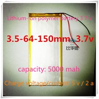 Wholesale L238 V mAH polymer lithium ion Li ion battery LG cell for tablet pc GPS e book onda cube ainol