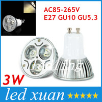 Wholesale E27 Spotlight high power W led cup lamp E26 GU10 led bulbs candles light led spotlights volt led light