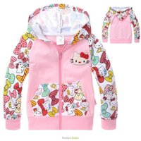 allover print jacket - Kids Fashion Girls Coat Cartoon Winter Jacket Kids Kids Jackets NWT Hello Kitty Girls Pink Allover Print Fleece Hoodie Jacket Baby Clothes