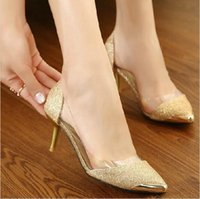 Wholesale summer new women shoes cm high heels metal head Pointed sexy women pumps sandals for women S52