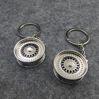 acura brake calipers - Interior Accessories Key Rings The new car calipers key chain ring brake calipers key chain ring creative Wheel hub
