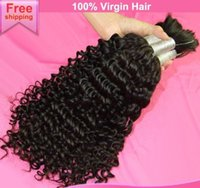 Wholesale Details about inch virgin Indian hair bulk curly Hair x g