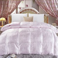 Cheap Goose down quilt,Silk quilt,Feather quilt.queen and king size.VR016.