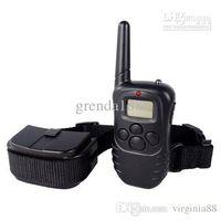 Wholesale 2013 pet collars Remote control meters digital display adjustable stop barking dog training Bark Control