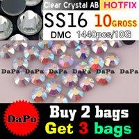 ab buy - Buy bags get bags free pieces bag SS16 Crystal Clear AB DMC HotFix FlatBack Strass Rhinestones Hot Fix Crystal Stones