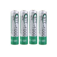Wholesale Real Capacity High Quality mAh BTY AAA Rechargeable Battery NI MH Batteries Bateria Cell For Electric Toys