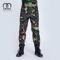 apparel quality assurance - Outdoor sports apparel rode combat wear military camouflage pants thick spot quality assurance