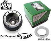 Wholesale TANSKY JDM style Steering Wheel Boss Kit Hub Kit for Peugeot Universal HUB P Have In Stock