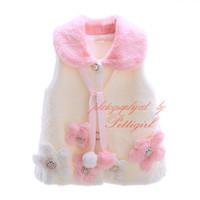 best winter coats kids - Pettigirl Best Sellers Girls Woolen Coat Decorated With Beading Flower Stylish Kids Warm Jacket Child Wear OC41007