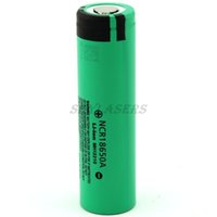 Wholesale 4pcs New Original NCR18650 Rechargeable Li ion battery V mAh For Panasonic