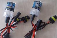 achat en gros de xénon un hid-ONE pair lampe simple ampoules HID 12V HID ampoules au xénon H1 H3 H7 H11 H8 H9 H27 9005 9006 880 881 D2R D2S HB1 HB3 HB4 HB5 H4 9007 5202 H16