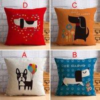 Wholesale 2015 Handmade Cartoon Sofa Cushion Sale Online Square Cotton Comfortable Couch Pillows Fashionable Decorative Pillows YWA009