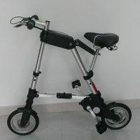 Aluminum Alloy bmx bikes - A Bike pro folding e bike folding electric bike mini bicycle foldable ebike