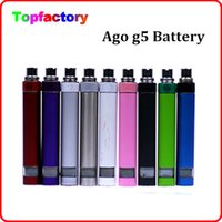 Cheap Ago G5 LCD Battery for Electronic cigarette ago g5 kit battery replacement match all ego atomizer Dry Herb Wax Vaporizer Ago G5 atomizer
