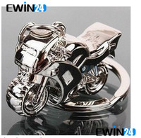 Wholesale Hot D Model Motorcycle Key Ring Chain Motor Silver Keychain New Fashion Cute Gift New