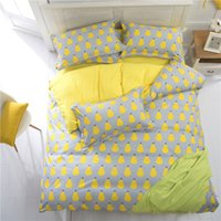 Wholesale Bedding set cotton reactive printing set bed skirt style bedspread dust ruffle pillowcase bed cover Queen sizes for