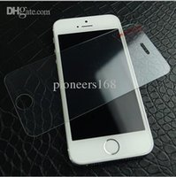 Wholesale cheap Gorilla Tempered Glass Screen Film Shatter Scratch Proof PROTECTOR Screen Guard FOR IPHONE S G S with Retail Box