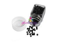 Cheap Silicone MICRO Link Ring Beads for Feather Hair Extensions Good Quality Hot Selling Easy To Carry 500pcs set