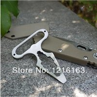 Wholesale 1Pcs EDC outdoor high quality stainless steel with a screwdriver multi functional tool