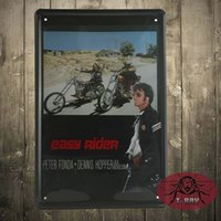 american tin signs - Vintage Garage Easy Rider American Chopper Motorbike Small Metal Tin Sign