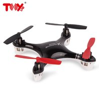 Wholesale Newest Arrival G Channel Remote Control Quadcopter Toy Helicopter FLT H107R With axis Gyro RC Radio Remote Control Toys