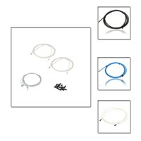 Wholesale Hot Sale MTB Mountain Road Bike Bicycle Brake Cable Derailleur Line Pipe Shifter Brake Cable Set Wire Kit White Blue Black