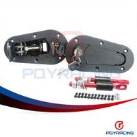 Wholesale PQY STORE D1 Generation Aerocatch Bonnet Pins Plus Flush Kit Hood Pin Plastic With Lock