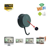 Wholesale 2016 Full HD P H WIFI Clothes Hook Camera spy hidden camera good quality freeshipping