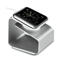 metal bracket - Apple Watch Stand Aerb iWatch Metal Charging Stand Bracket Docking Station Stock Cradle Holder for Both mm and mm
