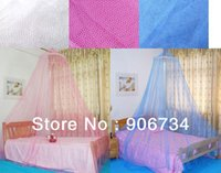 Wholesale Round Lace Insect Bed Canopy Netting Curtain Dome Net Outdoor