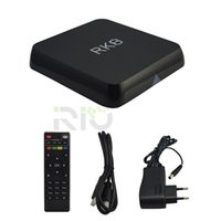 Wholesale RK8 Rockchip RK3368 Android TV Box Smart IPTV Octa Core OTT Cortex GB RAM GB ROM Boxes Dual wifi AP6330 PK MXQ K