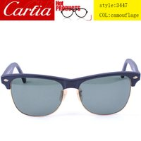 Wholesale sunglasses men or women brand designer sunglasses UV400 protection colorful lenses sunglass