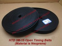 Wholesale Rubber Meters HTD M Open ended Timing Belt width mm Neoprene with fiberglass core M Timing belt