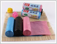 Wholesale Factory rolls roll cm household cleaning tools accessories plastic cutable garbage bags disposal bags waste bags