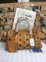 mcm bag - Hot Sale Travel Bags Mcm Bags in Totes Leather Shoulder Handbag Fashion Designer Handbag on Sale Travel Bags with Shoulder Belt x14x20cm