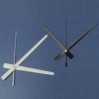 Wholesale 2015 Fashion Economic Clock Pointer Clocks Needle Home Decor DIY Accessories Large Wall Bell Black White Long cm