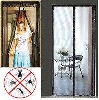 Wholesale Ne antimosquito curtains anti Insect screen Door Curtain Hands Free Magnetic Anti Mosquito net Bug crochet Curtain