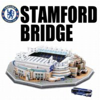 Wholesale Model building kit for Kids D DIY Stadium Model Chelsea Stamford Bridge Stadium educational toys brinquedos para as crian