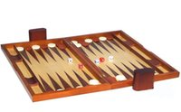 backgammon chips - 19 inch big wooden toy baccarat games folding portable zebra wood backgammon box with chip dice