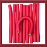 air rollers - Magic Air Hair Roller Curler Bendy cm width pieces Hair Curling Flexi rods Hair Sticks random colors Hair Devider Universal curl bar