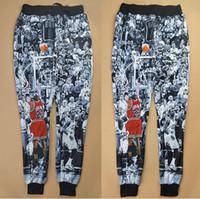 jogging pants - 2015 new fashion men women s joggers pants D print Jordan The Last Shot basketball sweat pants autumn winter jogging sweatpants
