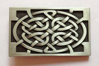 Wholesale Western belt buckle with pewter finish SW suitable for cm wideth belts with continous stock