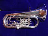Wholesale Bb Euphonium Piston Compensating system with ABS case Brass Musical Instruments