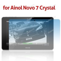 Wholesale High Quality Brand New Clear LCD Screen Guard Shield Film Sticker Protector for Ainol Novo Crystal Hot