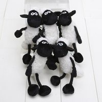 achat en gros de petite peluche animaux jouets gros-100 pièces / Lot 5 pouces mouton Peluche mouton peluche petit pendentif porte-clés gros