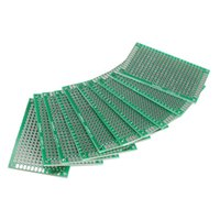 Wholesale 10pcs x6cm Double Side Prototype PCB Universal Printed Circuit Board
