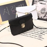 quilted handbags - Fashion new phone case quilted women handbag multi layer cell phone bags purse mini shoulder bag women messenger bags