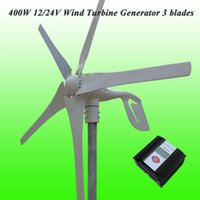 Wholesale 2015 Hot Selling Low Wind Speed Starting Blades W Wind Generator Kit With LCD Display Wind Solar Hybrid Controller
