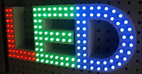 Wholesale LED exposed signs D channel letter logo number name words business signage store front display